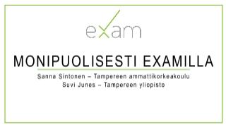 ITK 2017 - EXAM - Eduuni-wiki